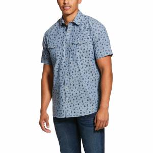 Ariat Mens Jynwood Retro Fit Short Sleeve Shirt