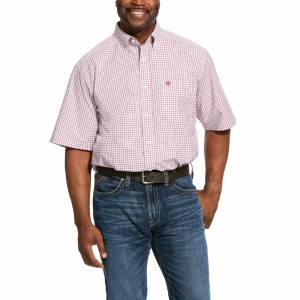 Ariat Mens Pro Series Norland Classic Fit Short Sleeve Shirt
