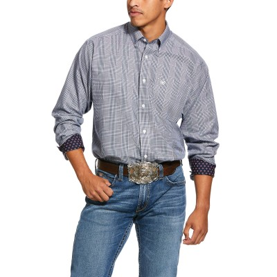 Ariat Mens Wrinkle Free Indie Classic Fit Long Sleeve Shirt