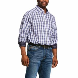 Ariat Mens Wrinkle Free Iola Classic Fit Long Sleeve Shirt