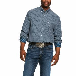 Ariat Mens Wrinkle Free Middleburg Classic Fit Long Sleeve Shirt