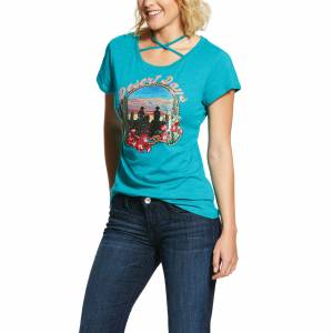 Ariat Ladies Desert Days Short Sleeve T-Shirt