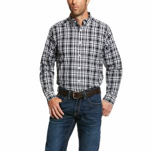Ariat Mens Pro Series Oildale Fitted Long Sleeve Shirt