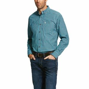 Ariat Mens Pro Series Ozark Fitted Long Sleeve Shirt
