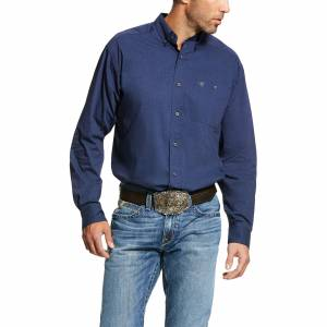 Ariat Mens Air Flow Classic Fit Long Sleeve Shirt