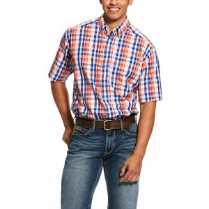Ariat Mens Wrinkle Free Patrick Classic Fit Short Sleeve Shirt
