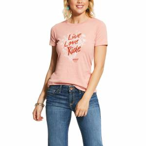 Ariat Ladies Live Love Ride Short Sleeve T-Shirt