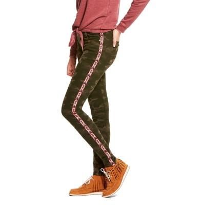Ariat Ladies Ultra Stretch Perfect Rise Chevron Camo Skinny Jeans