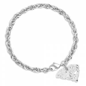 Montana Silversmiths I Heart South Carolina State Charm Bracelet