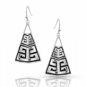Montana Silversmiths Finding Your Path Earrings