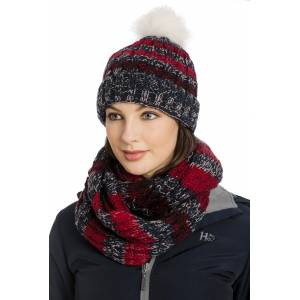 Horseware Ladies Knitted Hat & Snood