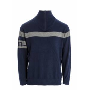 Alessandro Albanese Adult Quarter Zip Knit Sweater