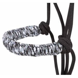 Cashel Braided Rope Halter with 7-1/2  Ft Lead