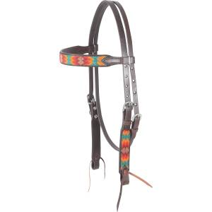 Cashel Beaded Browband Headstall - Santa Fe