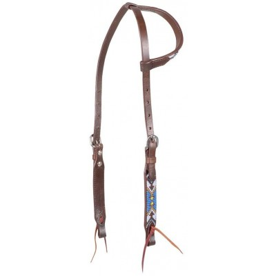 Cashel Beaded Slip Ear Headstall