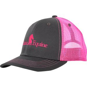 Classic Equine Kids Snapback Mesh Cap with Embroidered Logo II