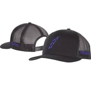 Rattler Mens Snapback Mesh Cap with Poly Press Logo