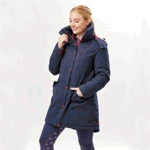 Dublin Ladies Bianca Long Line Parka Jacket