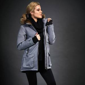 Dublin Ladies Black Wendy Waterproof Jacket