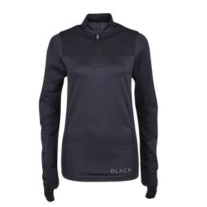 Dublin Ladies Black Jenny Half Zip Competition Shirt