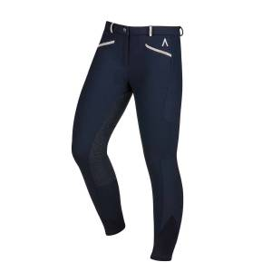 Dublin Ladies Black Linda Soft Shell Thermal Full Seat Breeches