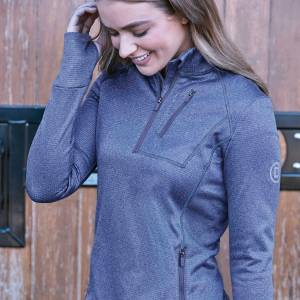 Dublin Nicola 1/4 Zip Thermal Midlayer Top