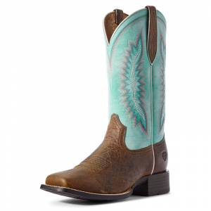 Ariat Ladies Quickdraw Legacy Square Toe Western Boots