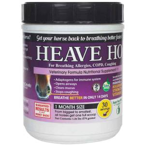 Equine Medical HEAVE HO Horse Supplement For Allergies,COPD,Coughing