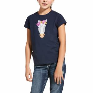 Ariat Kids Flower Crown Tee Shirt