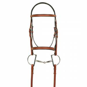 Aramas Fancy Raised Padded Bridle with X-Long Fancy Lace Reins