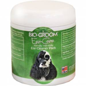 Bio-Groom Non-Oily Non-Sticky Med Ear Cleaner Pads