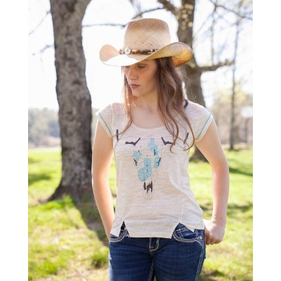 Outback Trading Ladies Annie Tee Shirt