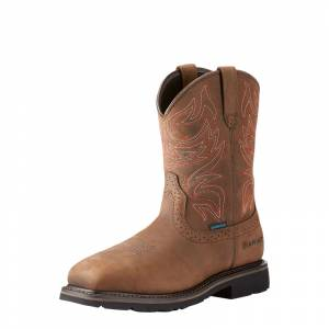 Ariat Mens Sierra Delta Waterproof Work Boots