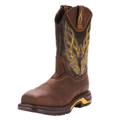 Ariat Mens WorkHog XT Firebird Carbon Toe Work Boots