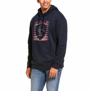 Ariat Mens Proud To Be Mid-States SMU Hoodie