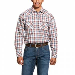 Ariat Mens FR Granite Retro Fit Snap Work Shirt