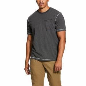 Ariat Mens Rebar Workman Technician Graphic T-Shirt