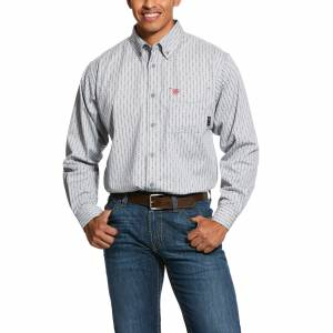 Ariat Mens FR Quartz Long Sleeve Work Shirt