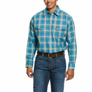 Ariat Mens FR Sanders Long Sleeve Work Shirt