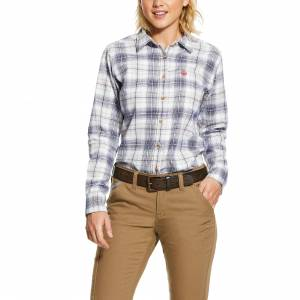 Ariat Ladies FR Foraker Long Sleeve Work Shirt