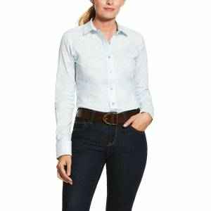 Ariat Ladies Toile Long Sleeve Shirt