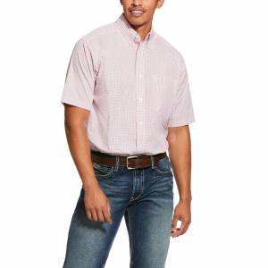 Ariat Mens Nemano Print Classic Fit Short Sleeve Shirt