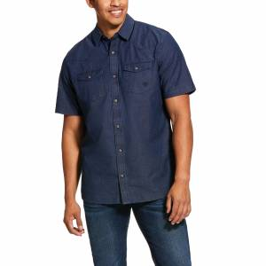 Ariat Mens Jasco Retro Fit Short Sleeve Shirt