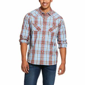 Ariat Mens Jensen Retro Fit Snap Long Sleeve Shirt