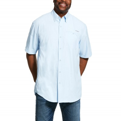 Ariat Mens VentTEK II Classic Fit Short Sleeve Shirt