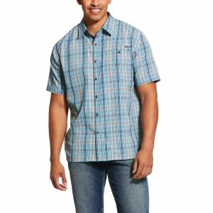 Ariat Mens TEK Solitude Stretch Classic Fit Short Sleeve Shirt