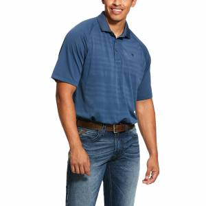 Ariat Mens Edge TEK Short Sleeve Polo Shirt