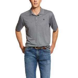Ariat Mens Fade TEK Short Sleeve Polo Shirt