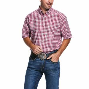 Ariat Mens Pro Series Tiburon Short Sleeve Classic Fit Shirt