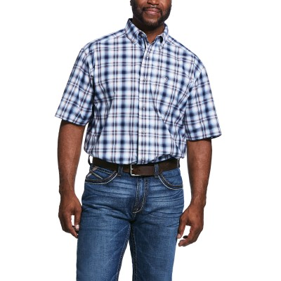 Ariat Mens Pro Series Thompsonville Short Sleeve Classic Fit Shirt